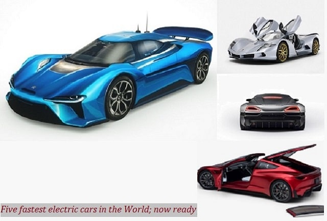Top 5 Fastest Electric Cars In The World 2020 Overview Price And Photos Topcarsworld Com