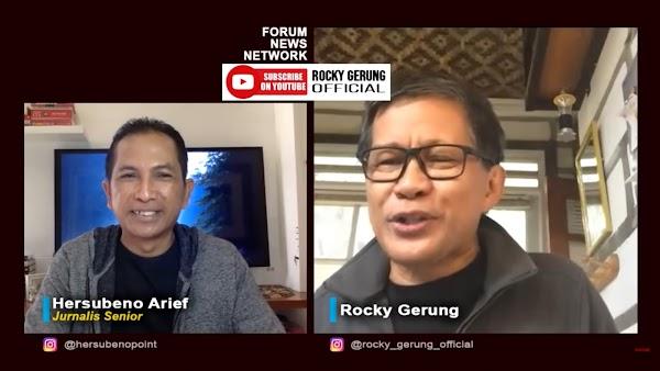 Komnas HAM Selidiki Wafatnya Ustaz Maaher, Rocky Gerung: Mirip Lagu 'Madu dan Racun'
