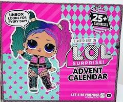Новый адвент календарь Лол Сюрприз 2020 года: какие 25 сюрпризов внутри?