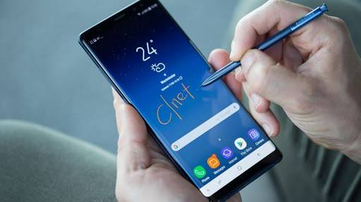 new update is now available for the samsung galaxy note 8 | phone