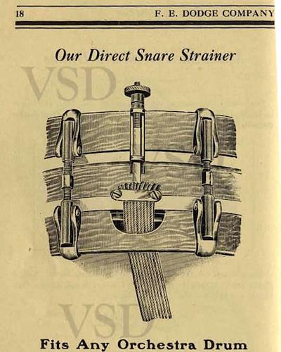 F. E. Dodge Drum Catalog