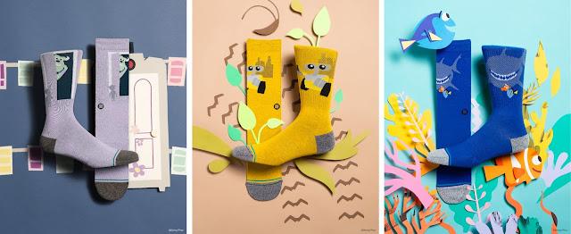 Pixar-themed socks from STANCE