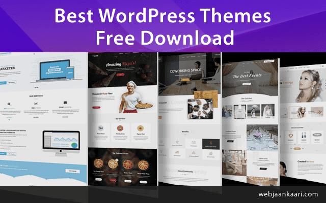 Best wordpress themes | wordpress templates free download
