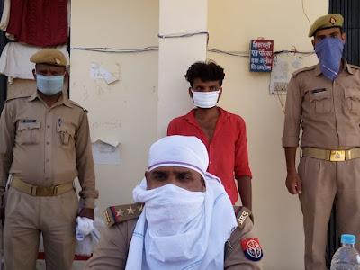 जालौन पुलिस द्वारा पॉक्सो एक्ट में अभियुक्त गिरफ्तार Jalaun police arrested accused in poxo act        संवाददाता, Journalist Anil Prabhakar.                 www.upviral24.in