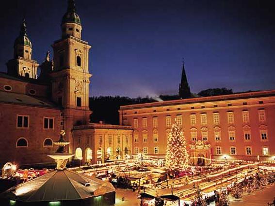 Navidad en Salzburgo. 4 Destinos para viajar en Navidad
