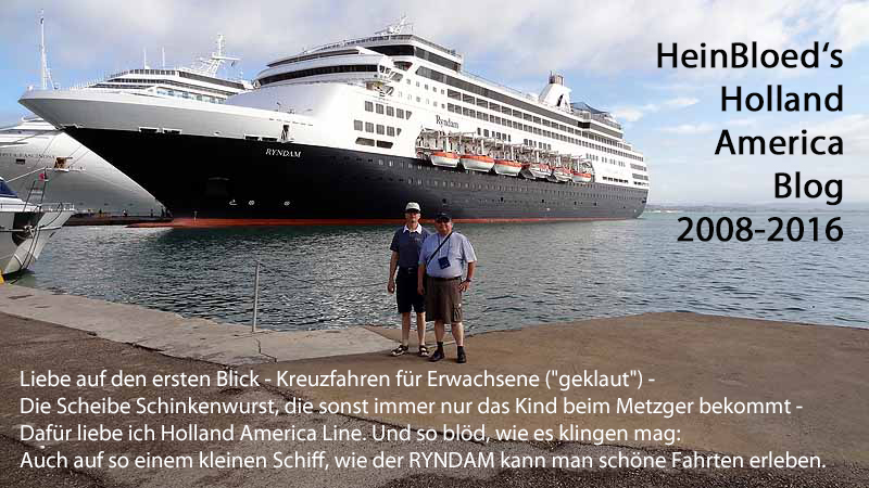HeinBloed's Holland-America-Blog 2008-2016