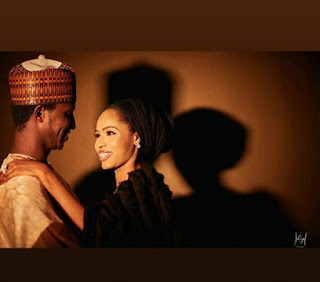 Pre-wedding photos of late President Yar'adua's son and his bride-to-be