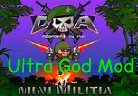 Mini militia ultra god mod