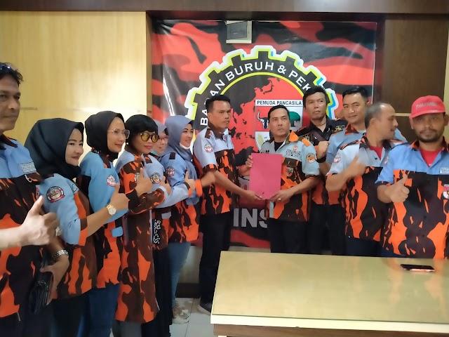 Ketua B2P3 Provinsi Riau Terima Salinan Kepengurusan PC B2P3 Kabupaten Indragiri Hulu