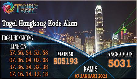 Prediksi Tembus Togel Hongkong Kamis 07 Januari 2021