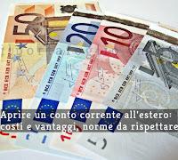 aprire conto corrente estero
