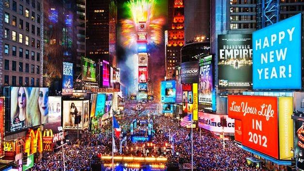Fin de Año en Times Square, Nueva York