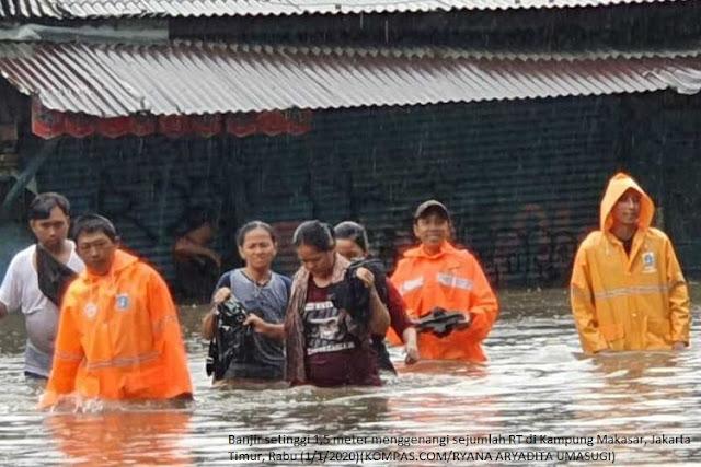 Awal Tahun 2020, Banjir Rendam Jakarta dan Sekitarnya