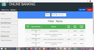 ONLINE BANKING IN PHP WITH SOURCE CODE