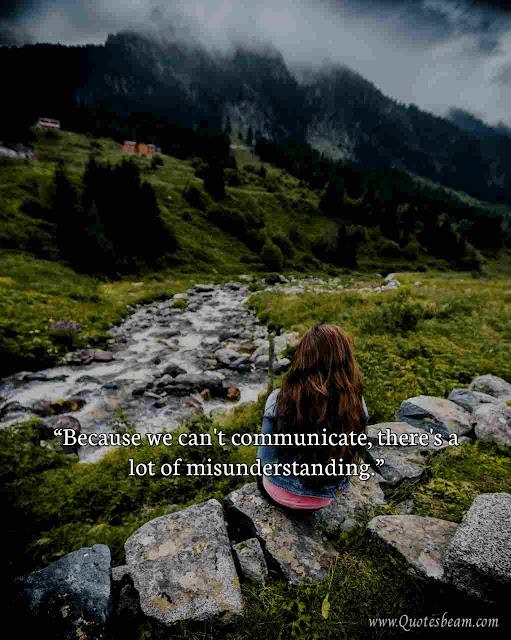 Misunderstanding Quotes in Love