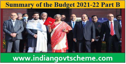 Summary of the Budget