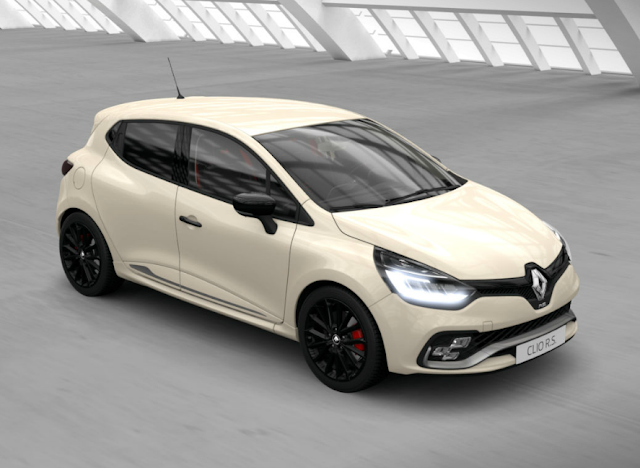 renault clio rs givre nacre
