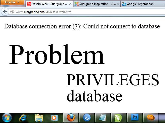 Indesign Database Error 3 - #GolfClub