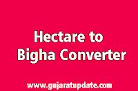 1 Hectare to Bigha Converter in Gujarat