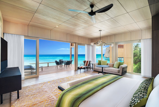 The St. Regis Maldives Vommuli Resort (c), Two Bedroom Family Poolvilla, Master Bedroom