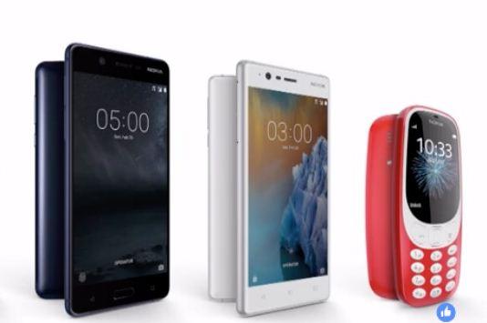 Nokia 5, Nokia 3 dan Nokia 3310