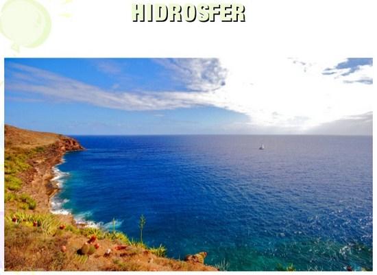Pengertian Hidrosfer, Unsur dan Siklusnya