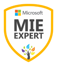 Microsoft Innovative Educator Expert (MIEE), 2017-Present