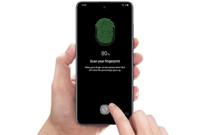 Samsung-galaxy-A51-FingerPrint