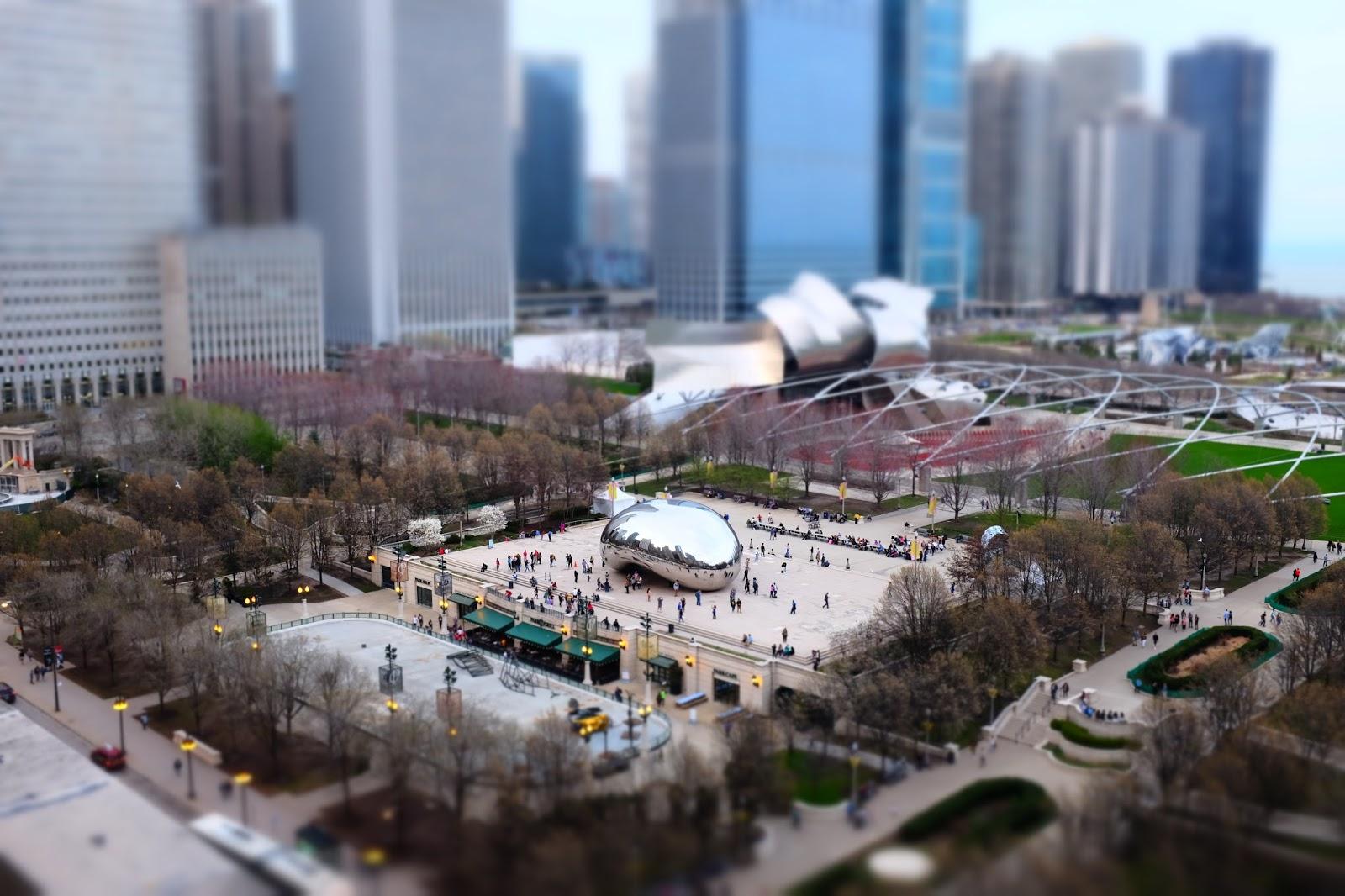 Le Chameau Bleu - Chicago et son Bean - Tourisme Chicago illinois USA