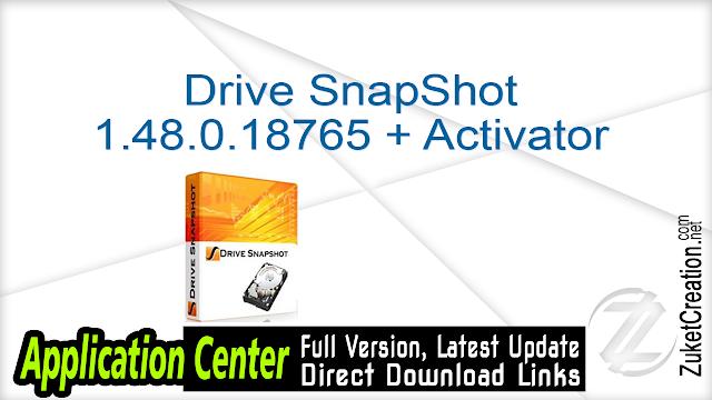 Drive SnapShot 1.48.0.18765 + Activator