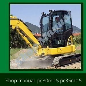 Shop Manual pc30mr-5 pc35mr-5