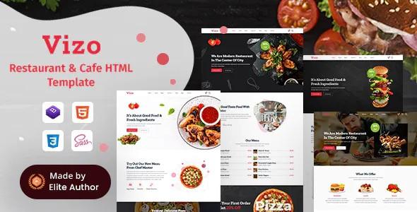 Best Restaurant & Cafe HTML Template
