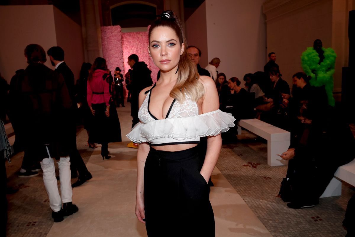 Ashley Benson - Giambattista Valli Paris Fashion Week show in Paris