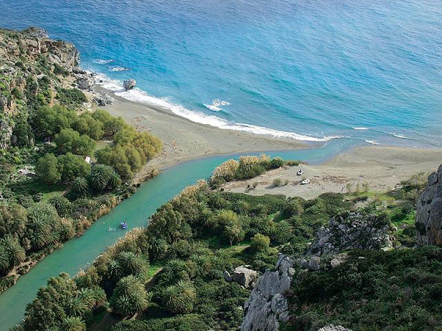 Praia Prevelli, Creta