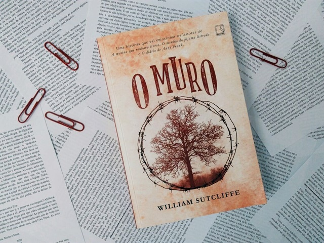Livro O Muro, de William Sutcliffe