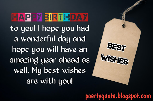 Best Wishes Quotes Images of Happy Birthday