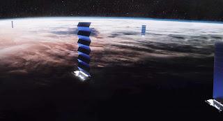 مشروع Starlink لربط العالم بالانترنيت عن طريق الاقمار الصناعية