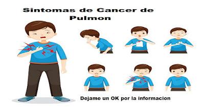 cancer de pulmon sintomas