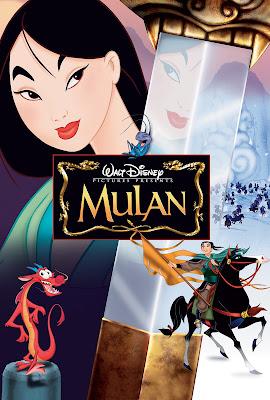 Poster Mulan 1998