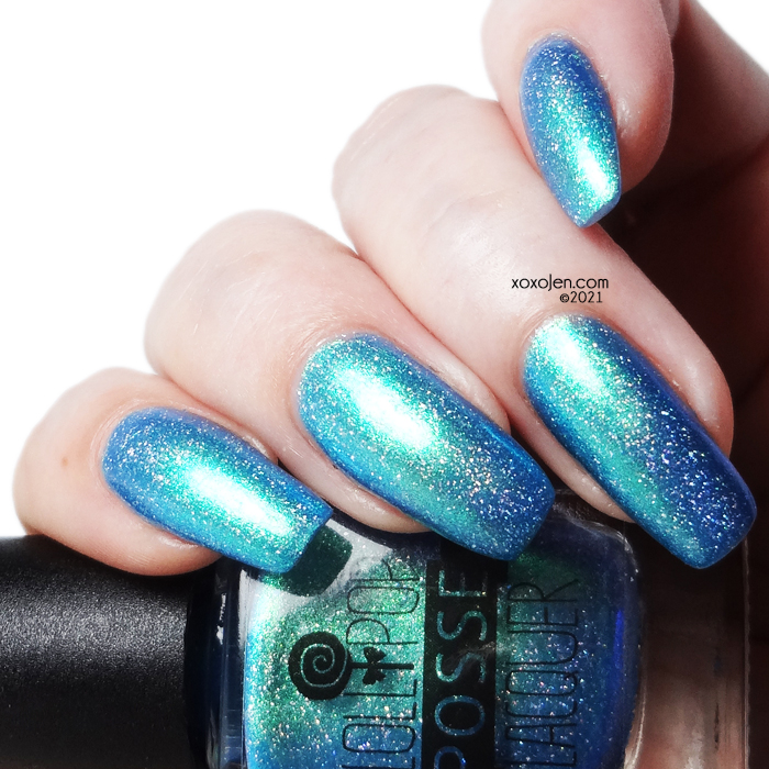 xoxoJen's swatch of Lollipop Posse Puncha Yo Buns