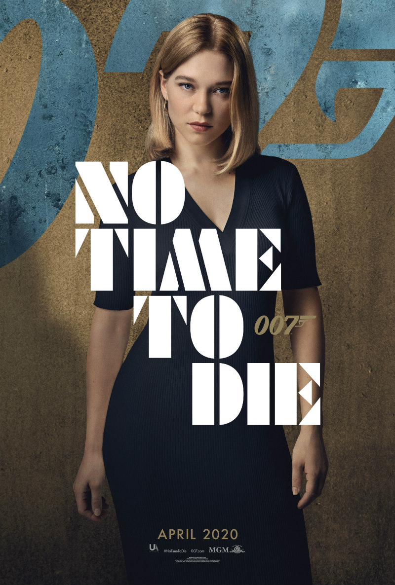 no time to die poster lea seydoux