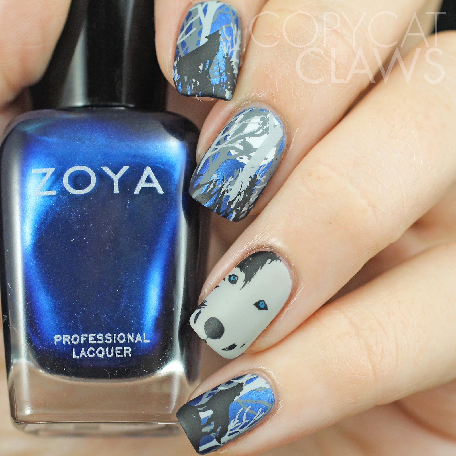 Copycat Claws: Wolf Nail Stamping