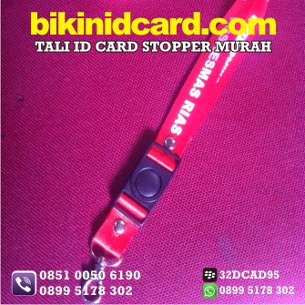 cetak tali id card stoper