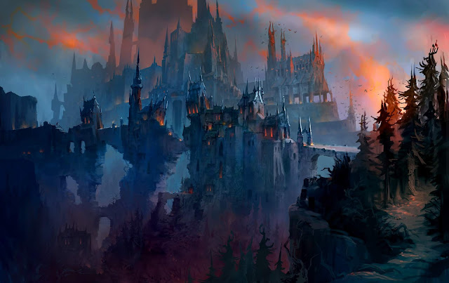The artists and designers of blizzards games are genius. I forever wanted to be as talented. The emotions each scene creates is real and powerful. Paired with the soundtrack and ambient noises and its just simple pleasure and grace.