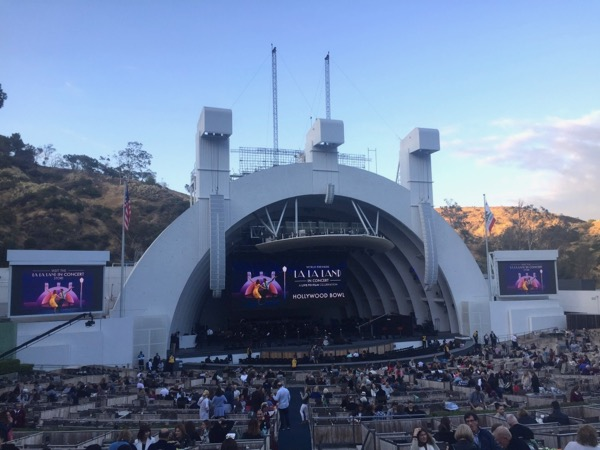 La La land concert Hollywood Bowl