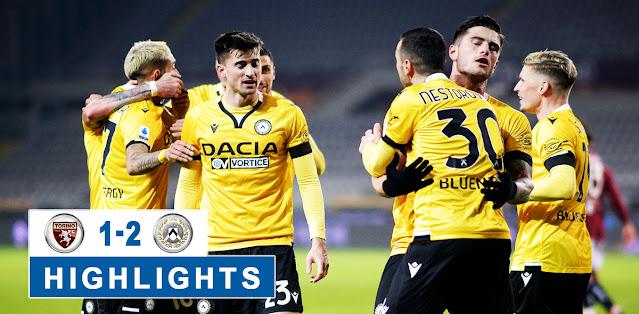 Torino vs Udinese – Highlights