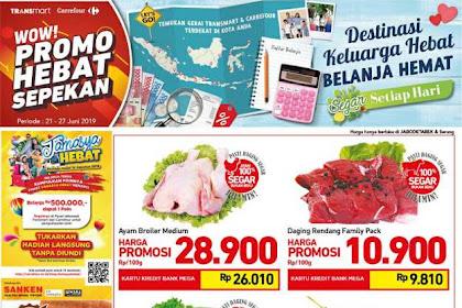 Katalog Carrefour Promo Produk Fresh Weekend 21 - 27 Juni 2019