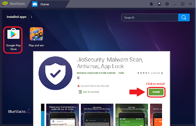 jio security for pc windows