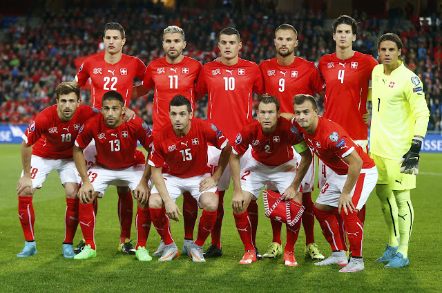 Skuad Resmi EURO 2016 Swiss