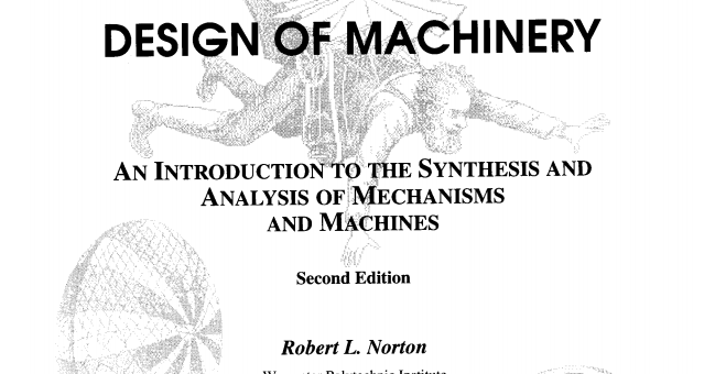 norton design of machinery 4th edition pdf free download